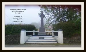 Monument in Scartaglin to Jerh Leary