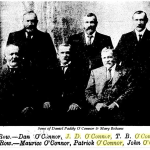 Sons of Daniel Paddy & Mary Behane O'Connor