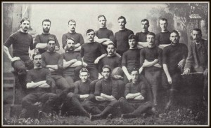 T.B O'Connor's 1884 NZ All Blacks Rugby Team.